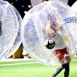 衝突してばいんぼいーん!ノルウェー生まれの新しいサッカー「バブルサッカー」が日本でできるぞぉー!