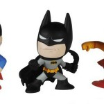 スーパーマンやバットマンが小さなデフォルメフィギュアに!「ミステリー★ミニ DCコミックス」が登場!