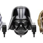 フォースをスマホに注入!ダースベイダーやC-3POの頭部が充電器となって登場!