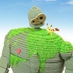 天空の城ラピュタの穏やかなロボット兵がペーパークラフトになって登場!